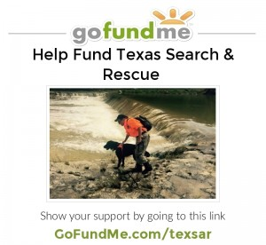 Help Fund Texas Search & Rescue at GoFundMe.com